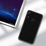 PINWUYO Full Coverage Waterproof Shockproof PC+TPU+PU Case for Xiaomi Redmi Note 7 (Black)