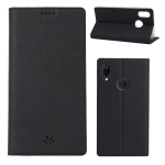 ViLi DMX Multifunctional Horizontal Flip Leather Case for Xiaomi Redmi Note 7, with Card Slot & Holder(Black)