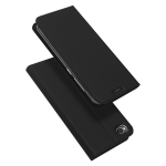 DUX DUCIS Skin Pro Series Horizontal Flip PU + TPU Leather Case for Xiaomi Redmi Go, with Holder & Card Slots (Black)