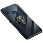 Ultra-thin TPU Protective Case for Xiaomi Mi 8, with 360 Degree Rotation Holder (Black)