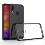 Scratchproof TPU + Acrylic Protective Case for Xiaomi Redmi Note 7/Note 7 Pro (Black)
