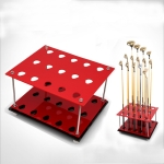 PGM Golf Driving Range Supplies 15 Holes Double-layer Cue Rack