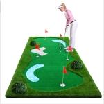 PGM Golf Putting Trainer Water Ripple Green Trainer, 1.5 x 3m