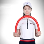 PGM Multi-function Golf Practice Soft Swing Stick Light-weight Flexibility Training Aids Tool, Size: 80 x 3cm (Red)