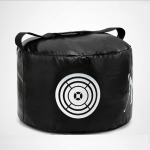PGM Multi-Function Golf Power Impact Waterproof Practice Training Smash Hit Strike Bag Trainer Exercise Package, Size: 26 x 44cm (Black)