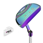 PGM Golf Club Cue Pole Stainless Steel Practice Pole Putter with Head Cover for Women