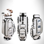 PGM Golf Standard PU Ball Bag Clothing Bag with Hidden Retractable Rod & Pulley for Women