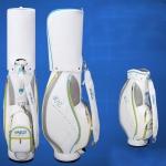 PGM Golf Ultra Light Edition Portable PU Standard Ball Bag for Women