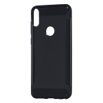 Carbon Fiber Anti-slip TPU Protective Case for ASUS ZB631kl (Black)