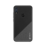 PINWUYO Honors Series Shockproof PC + TPU Protective Case for Asus Zenfone Max Pro (M2) ZB631KL (Black)