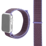 Simple Fashion Nylon Watch Strap for Apple Watch Series 4 & 3 & 2 & 1 42mm & 44mm, with Magic Stick (Light Purple)