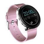 L8 1.3 inch TFT HD Color Screen Smart Bracelet IP68 Waterproof, Support Call Reminder/ Heart Rate Monitoring /Blood Pressure Monitoring/ Sleep Monitoring/Alarm Reminder (Pink)