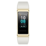 Original Huawei Band 3 Pro Smart Bracelet, 0.95 inch AMOLED Color Screen, 5ATM Waterproof, Support Heart Rate Monitor / Sleep Monitor / Message Reminder / GPS (Gold)