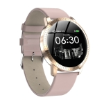 CF18 1.22 inch Color Screen IPX67 Waterproof Bluetooth Smartwatch, Support Call Reminder/ Heart Rate Monitoring /Blood Pressure Monitoring/ Sleep Monitoring (Pink)