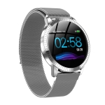 CF18 1.22 inch Color Screen IPX67 Waterproof Bluetooth Smartwatch, Support Call Reminder/ Heart Rate Monitoring /Blood Pressure Monitoring/ Sleep Monitoring(Grey)