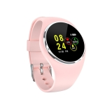 DK01 1.0 inch TFT Color Screen IP67 Waterproof Bluetooth Smartwatch, Support Call Reminder/ Heart Rate Monitoring /Blood Pressure Monitoring/ Sleep Monitoring (Pink)