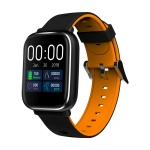 Q58S 1.3 inch TFT Touch Screen IP67 Waterproof Smartwatch, Support Call Reminder/ Heart Rate Monitoring /Blood Pressure Monitoring/ Sleep Monitoring (Orange)