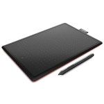 CTL-472 2540LPI Professional Art USB Graphics Drawing Tablet for Windows / Mac OS, with Pressure Sensitive Pen