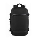 Ozuko 8983 Large Capacity Waterproof Travel Outdoor USB Shoulder Backpack 17 Inch (Black)