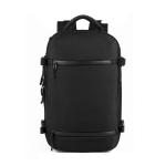 Ozuko 8983 Large Capacity Waterproof Travel Outdoor USB Shoulder Backpack 17 Inch (Black)