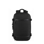 Ozuko 8983 Large Capacity Waterproof Travel Outdoor USB Shoulder Backpack 20 Inch (Black)