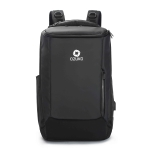 Ozuko 9060 Large Capacity Waterproof USB Outdoor Shoulder Backpack, Size: Large, 33x21x53cm (Black)