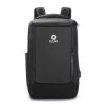 Ozuko 9060 Large Capacity Waterproof USB Outdoor Shoulder Backpack, Size: Large, 33x21x53cm (Black)