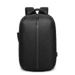 Ozuko 9080 Waterproof Anti-theft Code Lock Double-shoulder Backpack (Black)