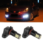 2 PCS EV11 9006 / HB4 DC9V-30V 5W 6000K 400LM Car LED Fog Light 24LEDs SMD-3030 Lamps