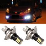 2 PCS EV11 9003 / H4 DC9V-30V 5W 6000K 400LM Car LED Fog Light 24LEDs SMD-3030 Lamps