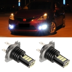 2 PCS EV11 H7 DC9V-30V 5W 6000K 400LM Car LED Fog Light 24LEDs SMD-3030 Lamps