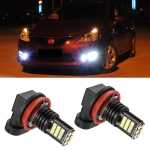 2 PCS EV11 H8 / H9 / H11 DC9V-30V 5W 6000K 400LM Car LED Fog Light 24LEDs SMD-3030 Lamps