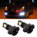 2 PCS EV11 H16 / 5202 DC9V-30V 5W 6000K 400LM Car LED Fog Light 24LEDs SMD-3030 Lamps