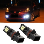 2 PCS EV11 P13W DC9V-30V 5W 6000K 400LM Car LED Fog Light 24LEDs SMD-3030 Lamps