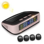 Universal Car Wireless Solar Energy TPMS Tire Pressure Alarm System Tire Monitor