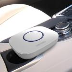 MC-CZ001 Car / Household Smart Touch Control Air Purifier Negative Ions Air Cleaner (White)