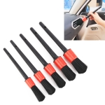 5 PCS Clean Tool Dirt Duster Brush for Car Air Outlet