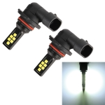 2 PCS 9006 DC9-16V / 3.5W / 6000K / 320LM Car Auto Fog Light 12LEDs SMD-ZH3030 Lamps, with Constant Current (White Light)