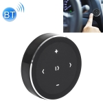 Car Wireless Bluetooth Controller Mobile Phone Multimedia Multi-functional Steering Wheel Remote Controller (Black)