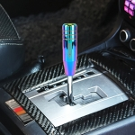MUGEN Universal Colorful Long Strip Shape Car Gear Shift Knob Modified Shifter Lever Knob, Length: 13cm