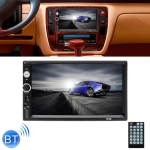 7010B HD 2 Din 7 inch Car Bluetooth Radio Receiver MP5 Player, Support FM & USB & TF Card