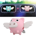 Universal Car Flying Pig Shape Air Outlet Aromatherapy (Pink)