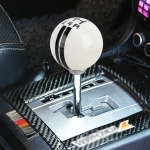 Universal Vehicle Ball Shape Modified Resin Shifter Manual 5-Speed Gear Shift Knob (Black)