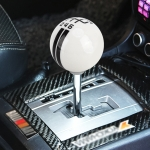 Universal Vehicle Ball Shape Modified Resin Shifter Manual 6-Speed Right-R Gear Shift Knob (Black)