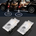 2 PCS DC12V 1.8W Car Door Logo Light Brand Shadow Lights Courtesy Lamp for Cadillac
