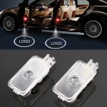 2 PCS DC12V 2.6W Car Door Logo Light Brand Shadow Lights Courtesy Lamp for Subaru