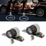 2 PCS DC12V 2.0W Car Door Logo Light Brand Shadow Lights Courtesy Lamp for Honda
