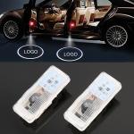 2 PCS DC12V 2.1W Car Door Logo Light Brand Shadow Lights Courtesy Lamp for Citroen