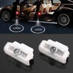 2 PCS DC12V 2.0W Car Door Logo Light Brand Shadow Lights Courtesy Lamp for Infiniti