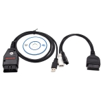 Galletto 1260 ECU Chip Tuning Interface Galletto Flasher Car Diagnostic Cable for Volkswagen / Audi / Skoda